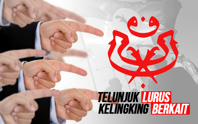 TELUNJUK-LURUS-KELINGKING-BERKAIT